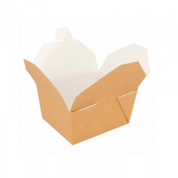 CAJA TAKE AWAY KRAFT 780 ML *50 UDS